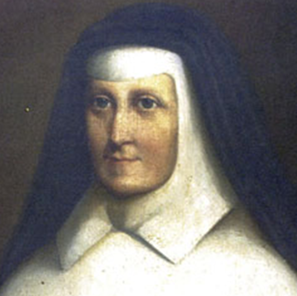 Portrait of Catherine McAuley, founder of the Sisters of Mercy