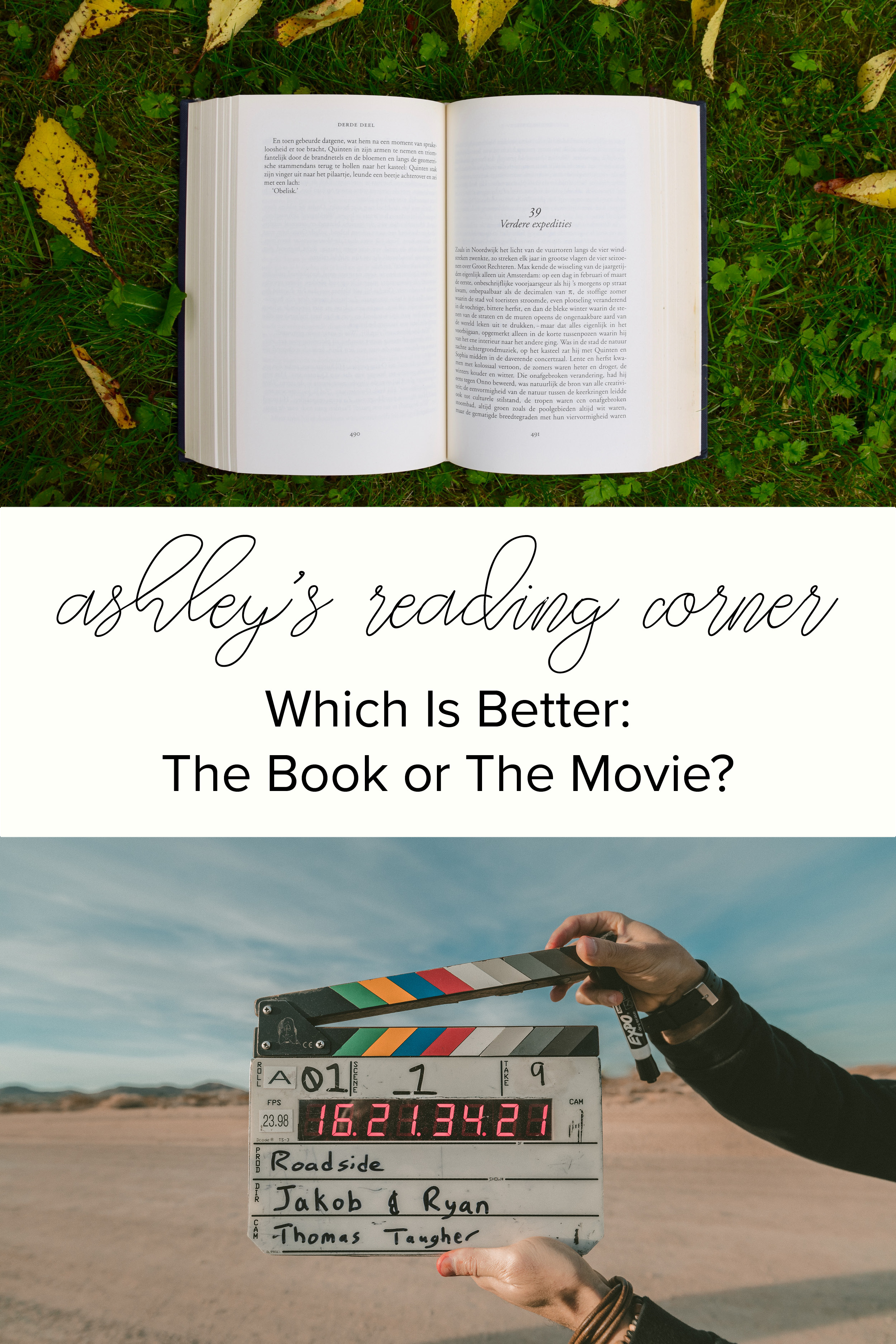 Which is better: the Book or the Movie?