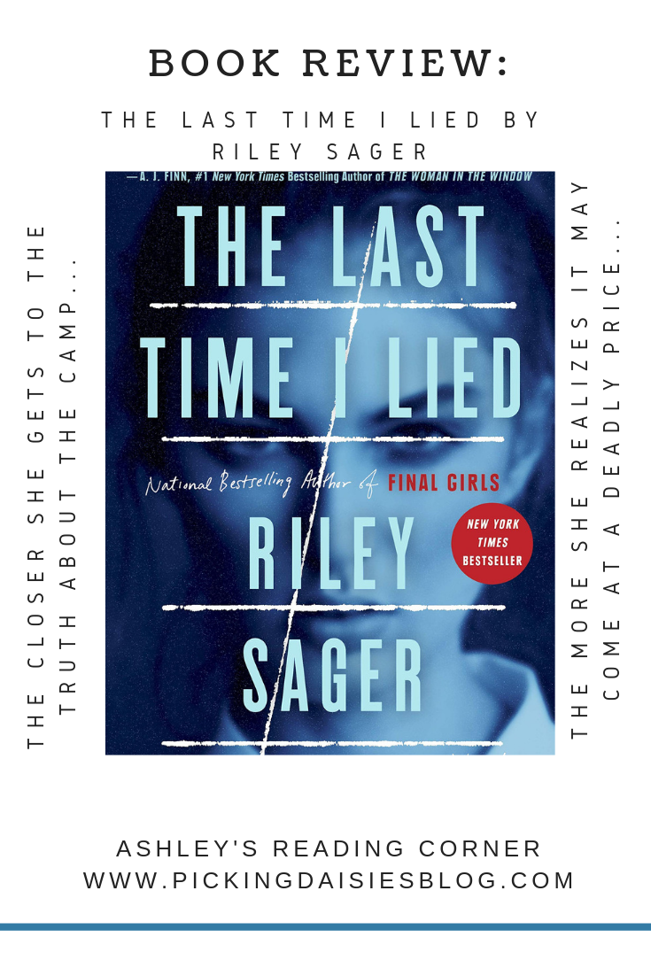BOOK REVIEW: The Last Time I Lied by Riley Sager