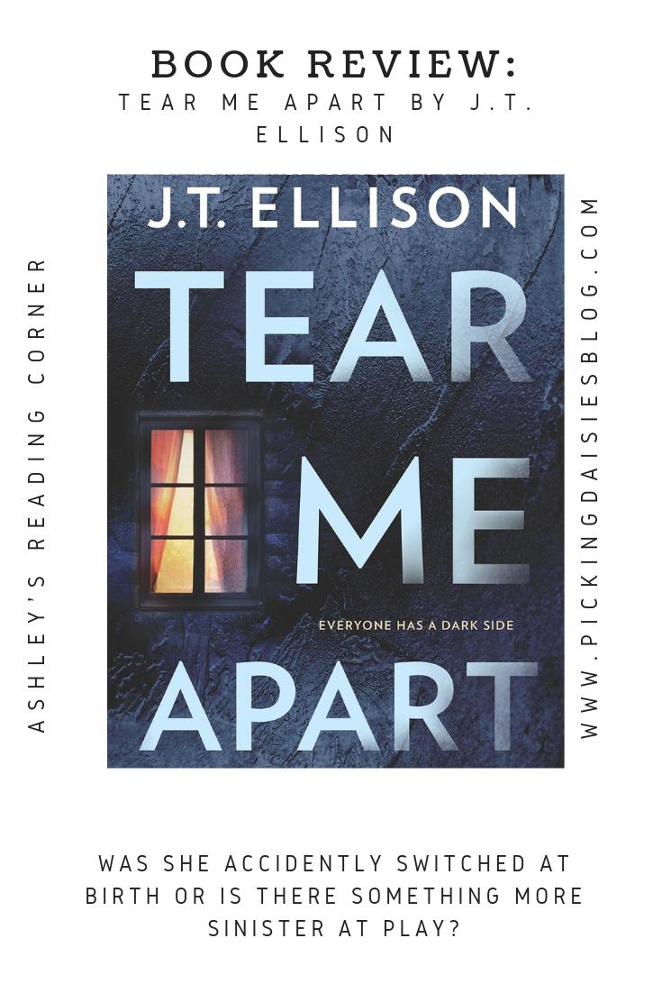 BOOK REVIEW: Tear Me Apart by J.T. Ellison