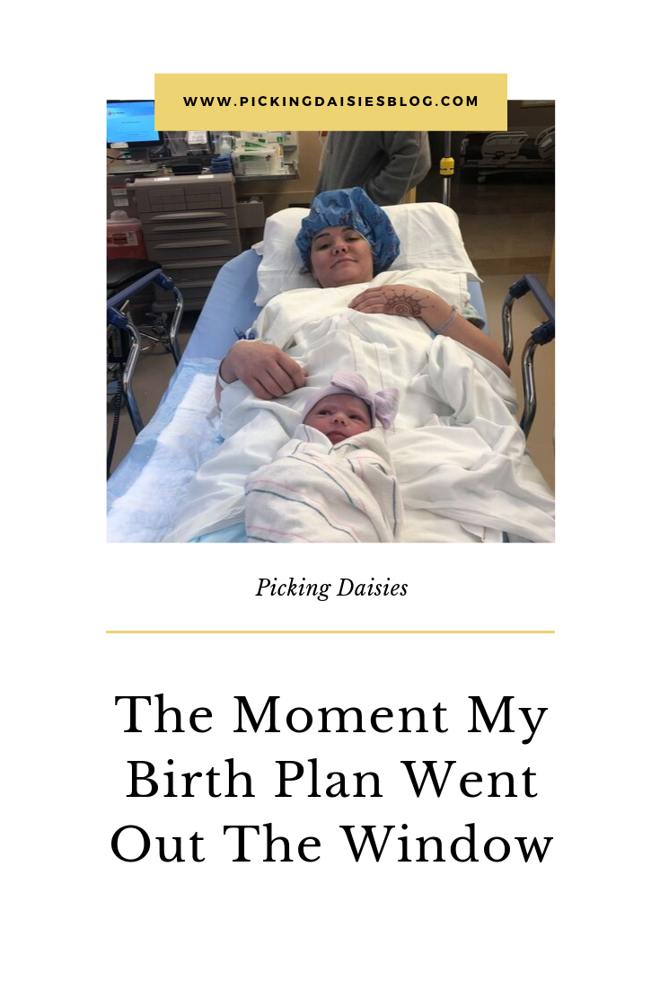The Moment My Birth Plan Went Out The Window