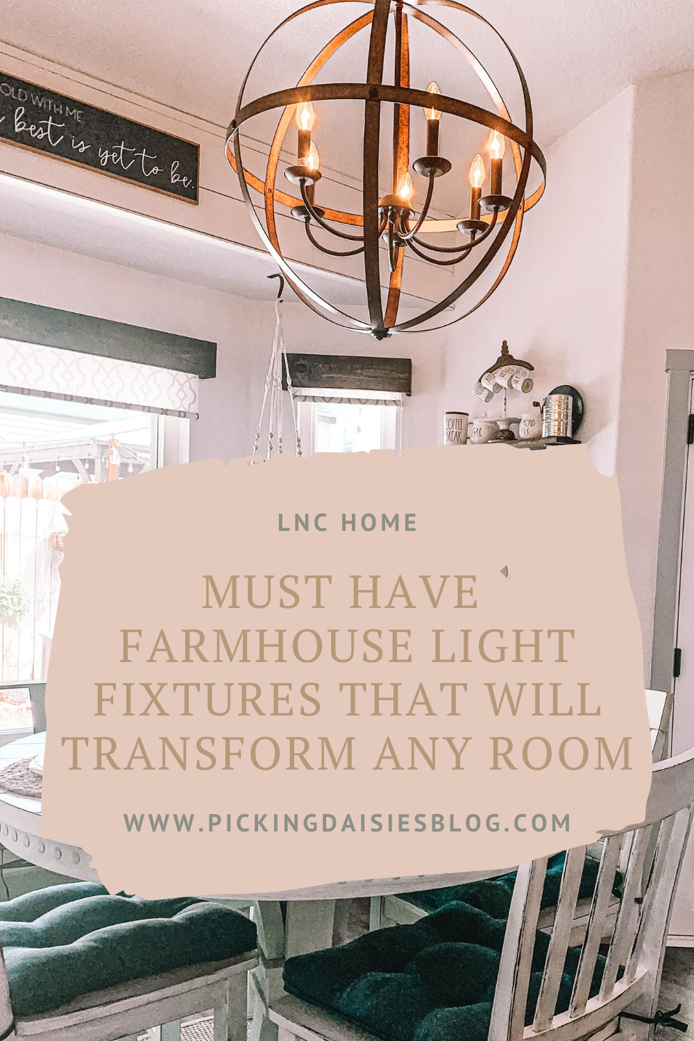 Must Have Farmhouse Light Fixtures That Will Transform Any Room