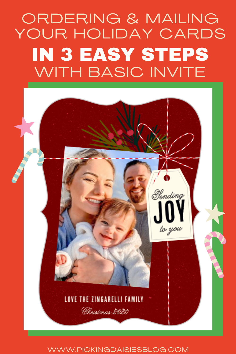 Ordering & Mailing Your Holiday Cards in 3 Easy Steps with Basic Invite