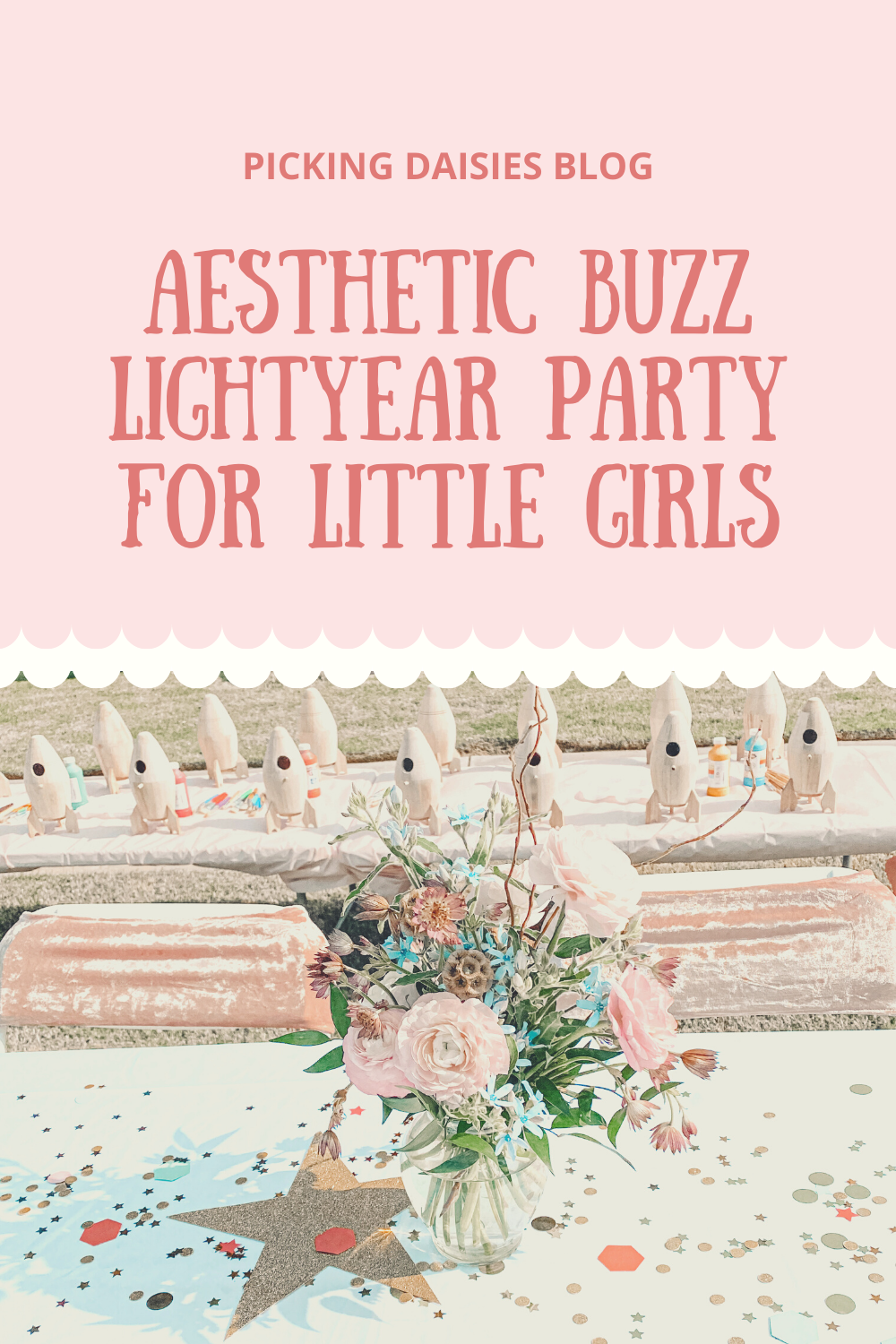 Aesthetic Buzz Lightyear Party For Little Girls