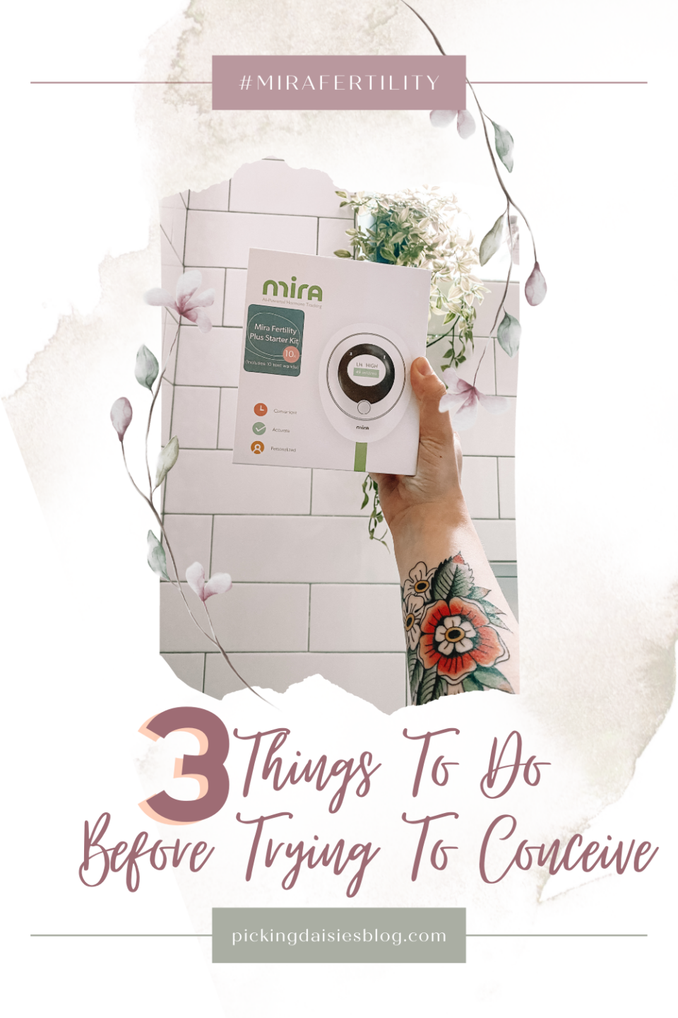 3 Things To Do Before Trying To Conceive Mira Fertility Ovulation Tracker