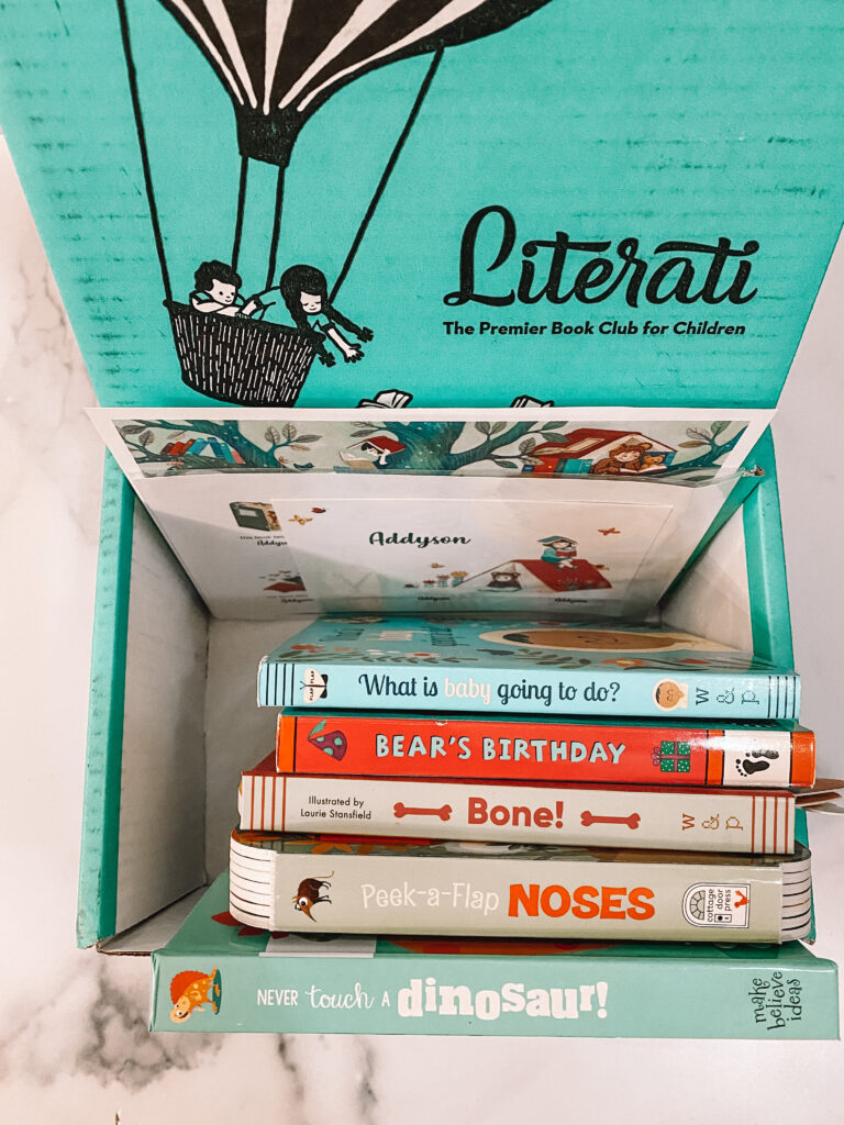 March Literati Kids Box