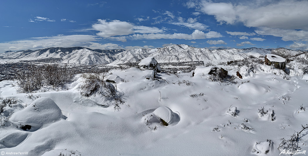 golden colorado winter deep snow march 2021