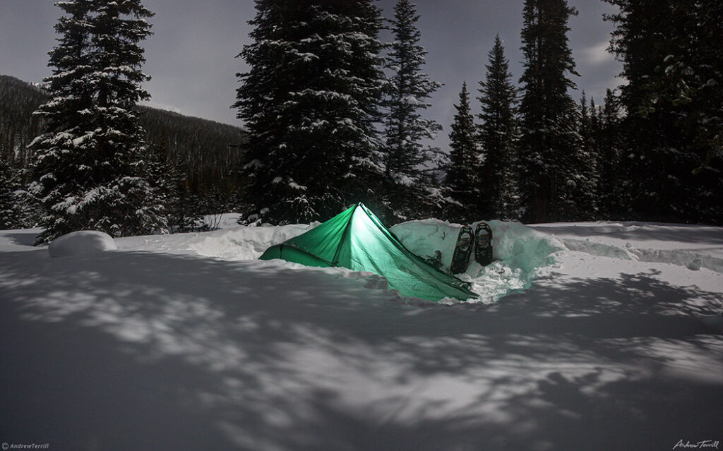 how to camp in the cold winter camping skills