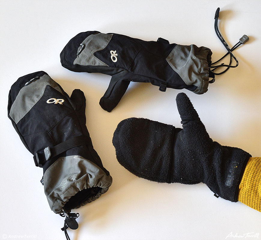 outdoor research meteor mitts winter gloves mittens