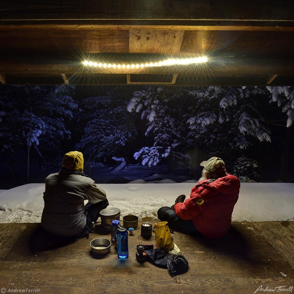winter cabin colorado andrew terrill