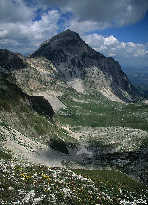 gran sasso d italia monte d intermesoli july 20 1997 abruzzo apennines