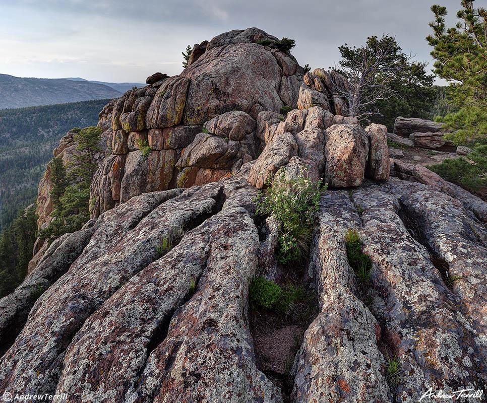 colorado foothills granite summit rocks