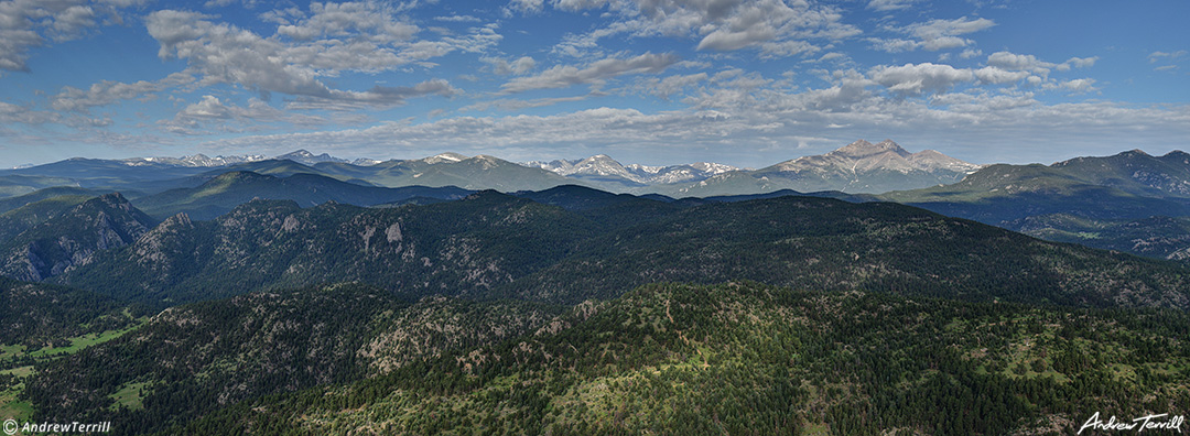 colorado front range indian peaks wilderness and rocky mountain national park summer
