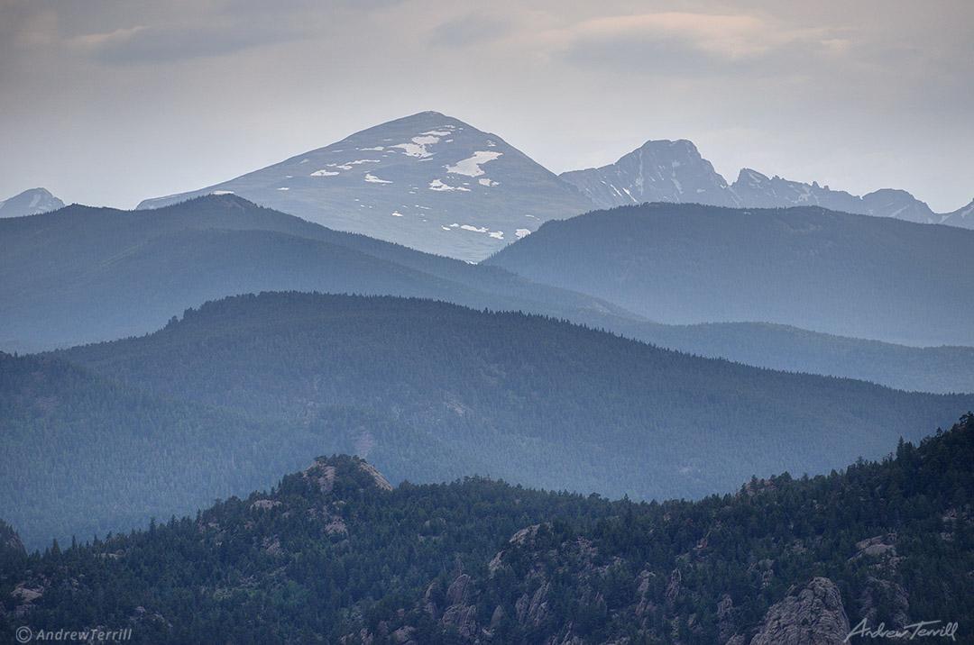 mount audubon indian peaks wilderness colorado
