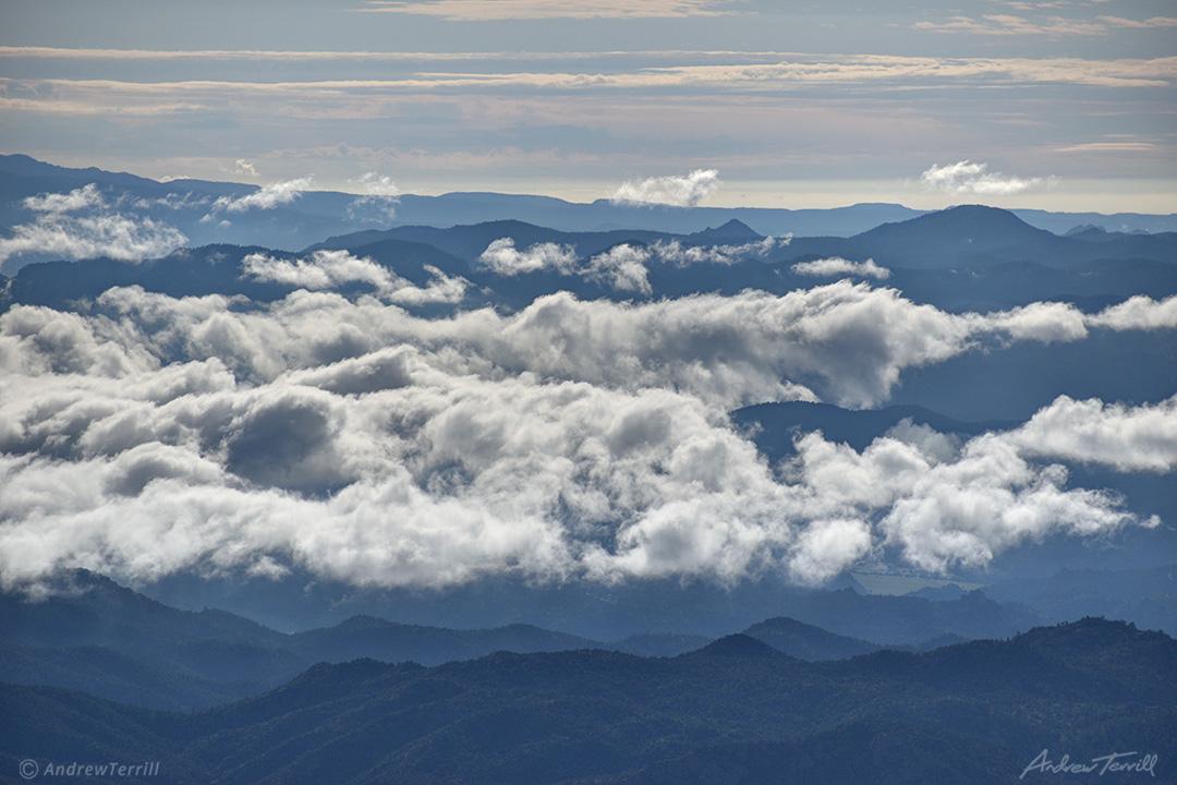 above the clouds arkansas valley near salida colorado