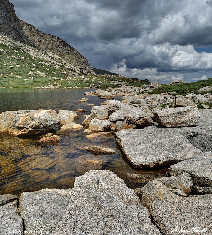 Chicago Lake On a Stormy Day Mount Evans Wilderness