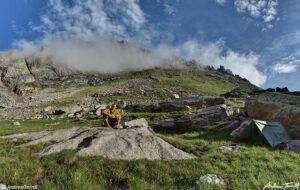morning mist wilderness camp mount evans colorado