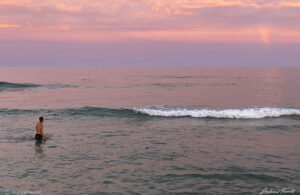 sunset at the Jersey shore august 2021