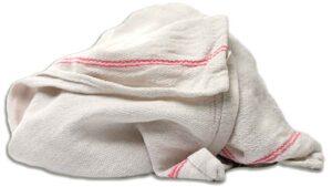white herringbone dish towels