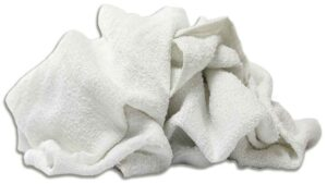 new white terry bath towels