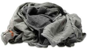 new washed pfa grey knit rag