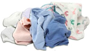 reclaimed bath blanket rags