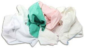 reclaimed sheet rags