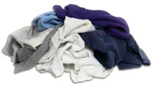 reclaimed sweatshirt rags