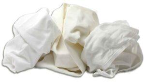 reclaimed table linen rags