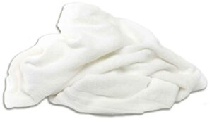 reclaimed white terry towels