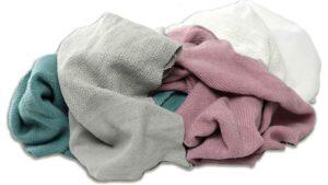 reclaimed thermal blanket rags