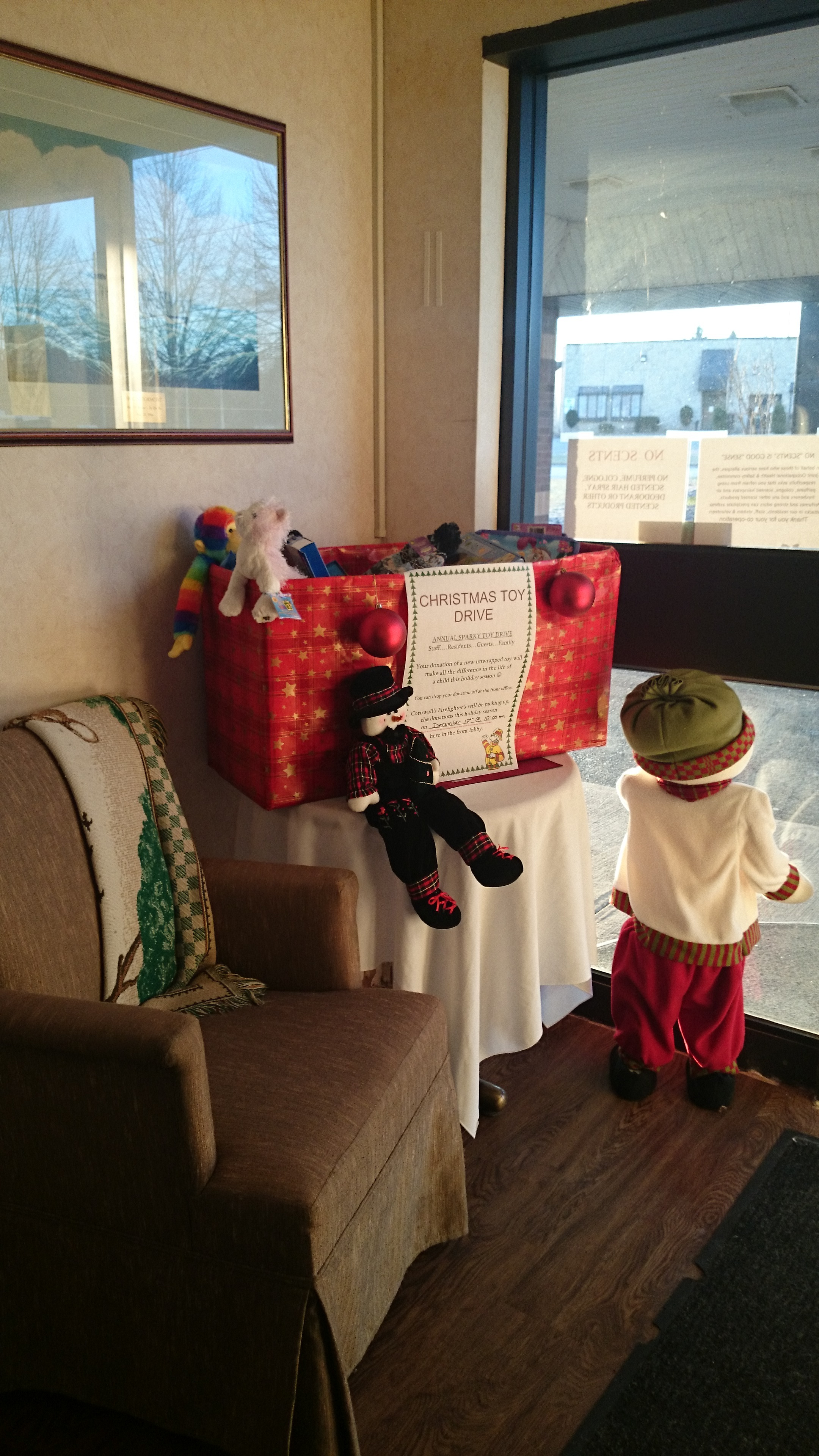Sparks Toy Drive for Heritage Heights