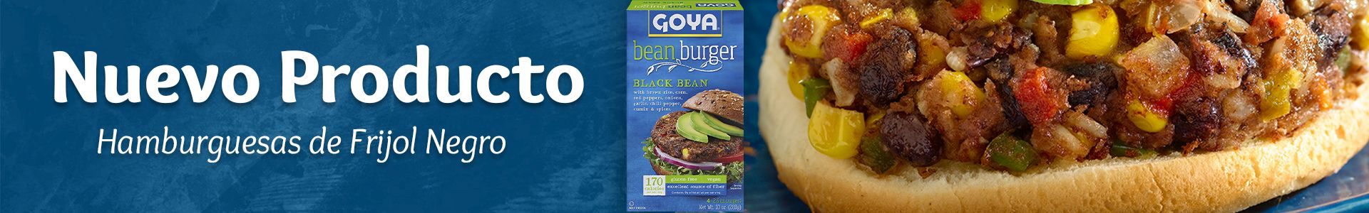 Goya Black Beans Burger