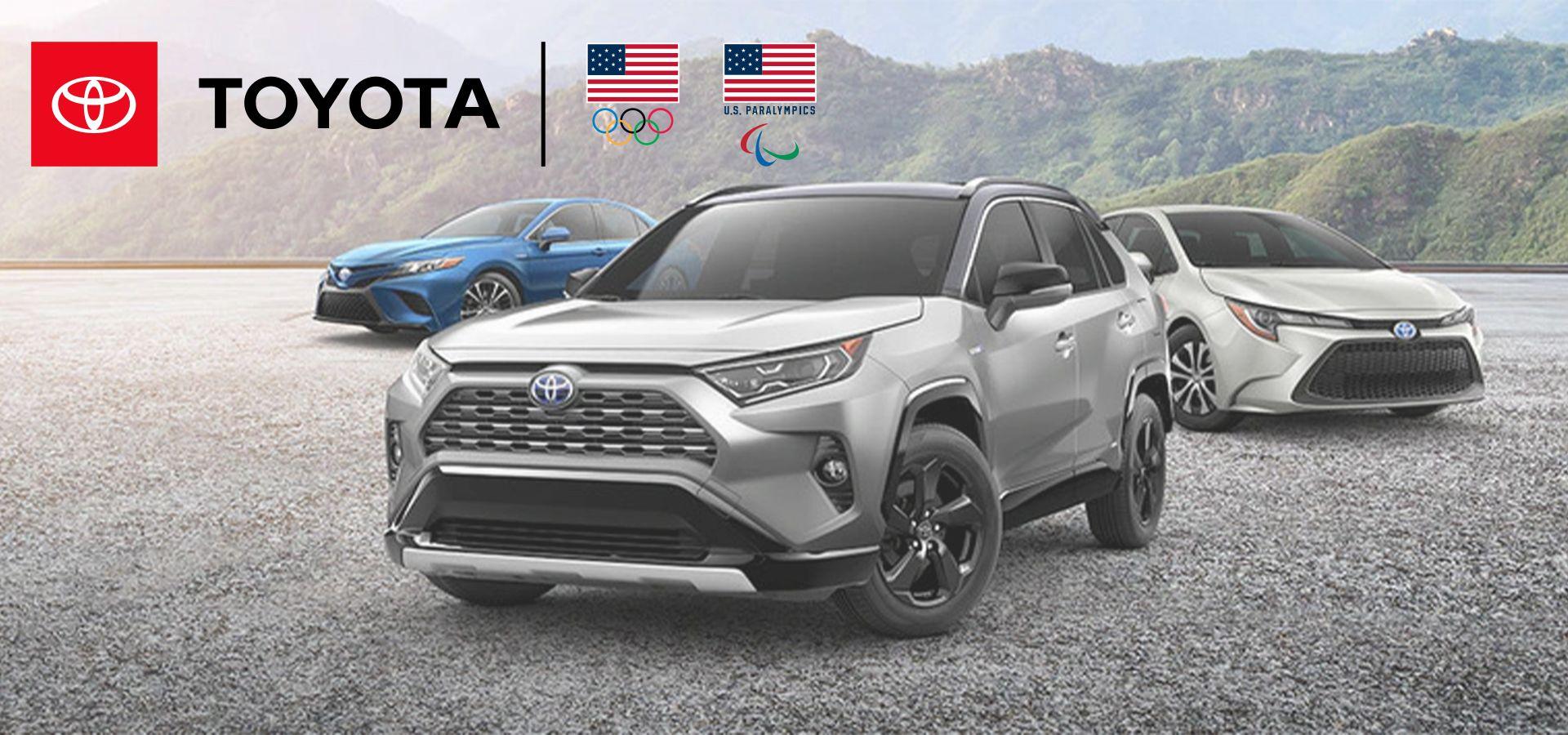 Toyota Olympic Sponsor