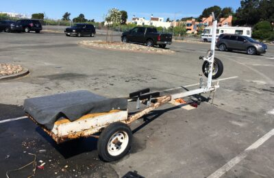 Rehabbing a 1983 Dilly boat trailer for a Coronado 15