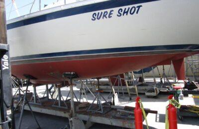 How to repair a fiberglass keel stub