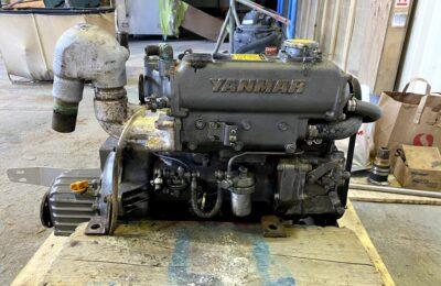 Yanmar 3GM30F Heat Exchanger Service, Don't Mix Coolant Colors