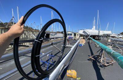 Tides Marine Sailtrack 2: Luff Track Installation
