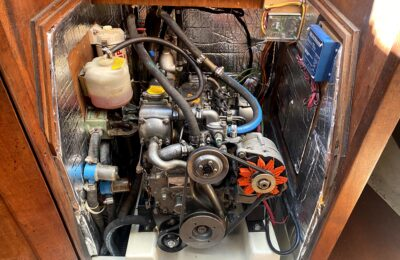 How to replace sailboat engine compartment insulation: