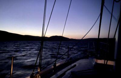 Sailing to Drake's Bay