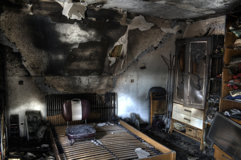 Room-with-Smoke-Damage-in-Houston