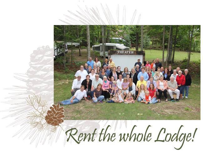 Rent Whole Lodge Presque Isle Lodge Michigan