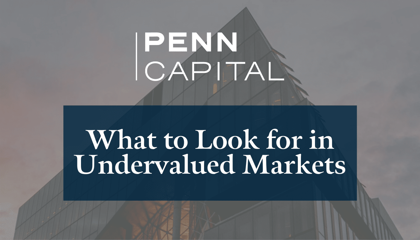 What to Look for in Undervalued Markets