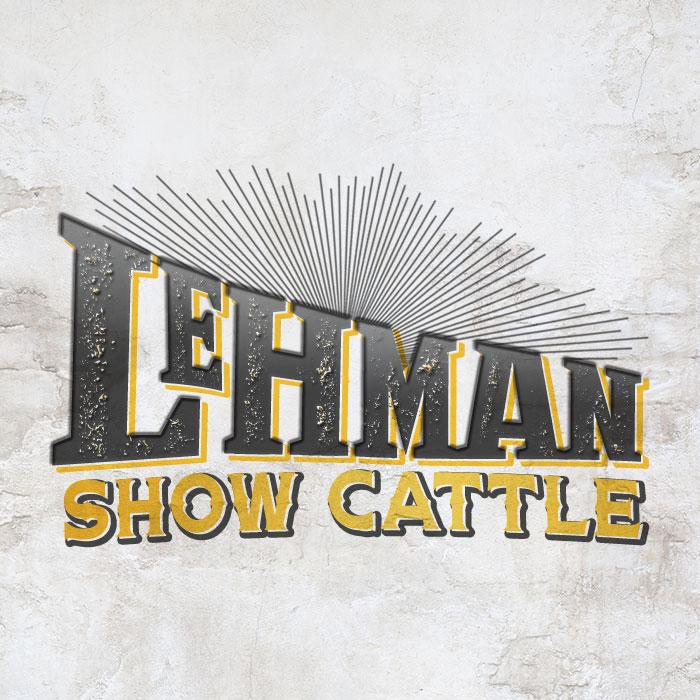 Lehman Show Cattle logo