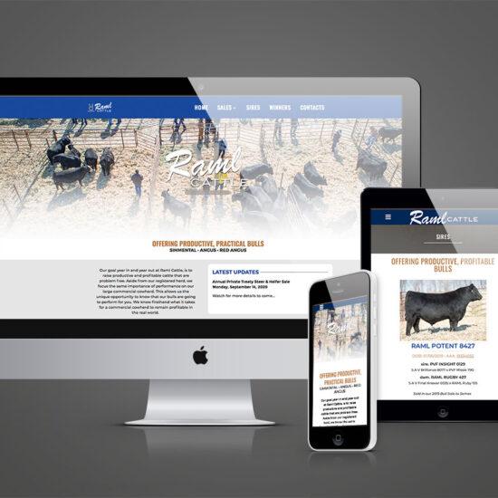 Raml Cattle Website