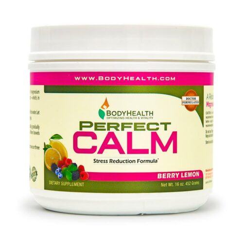 Perfect Calm Berry Lemon 16 oz. - Alma Supplements