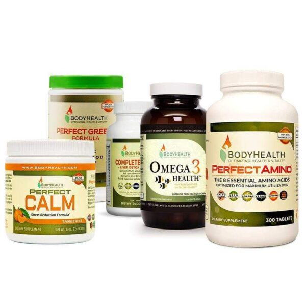 Alma Supplements - Essential Daily Health Package