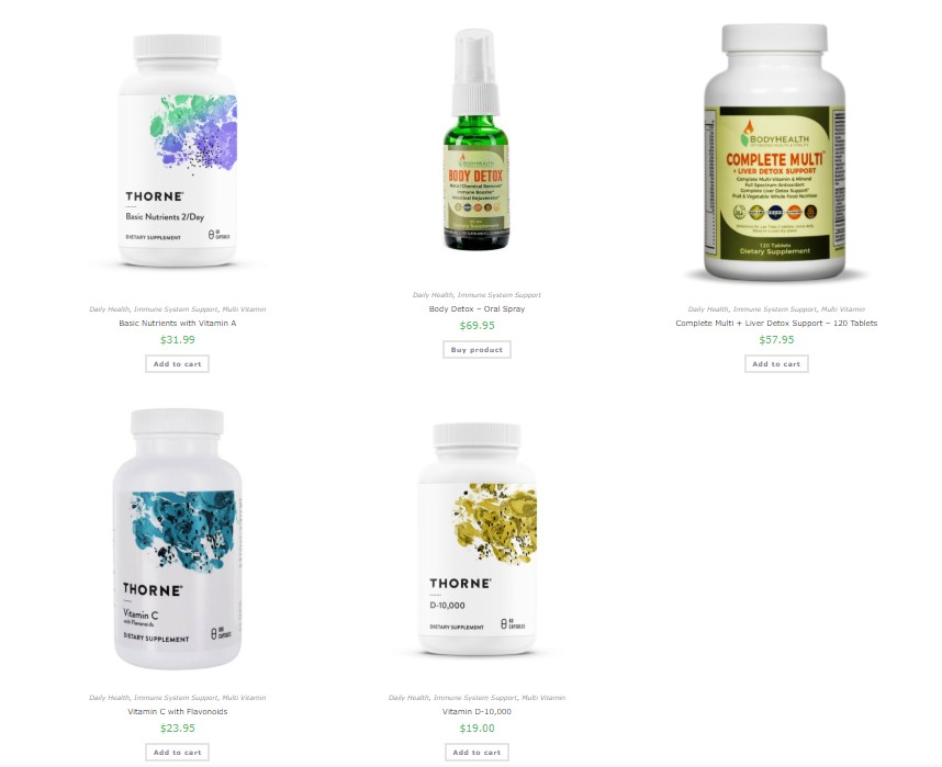Immune System Booster Package
