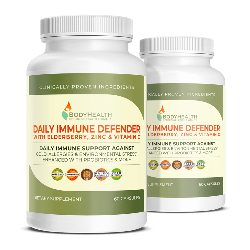 Alma Supplements - Daily Immune Defense Title Page