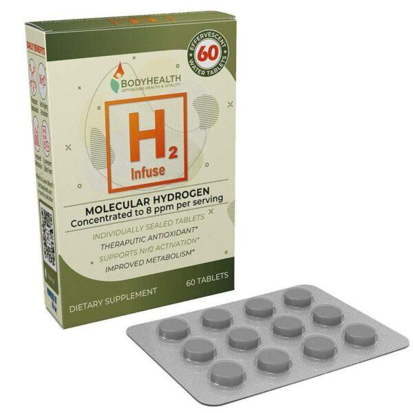Alma Supplements - H2 Infuse - Molecular Hydrogen Tablets 1